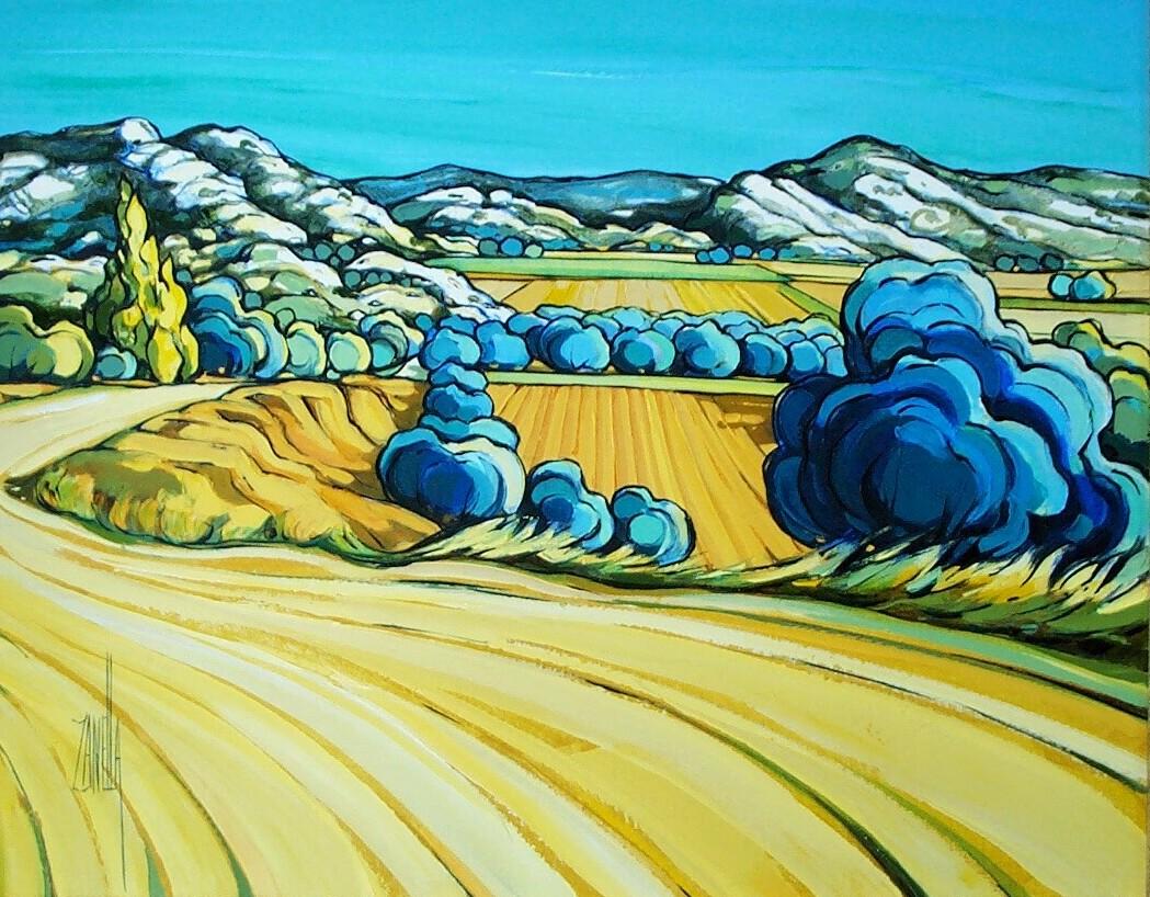 2001-Chemin dans les Alpilles2-6F