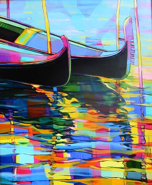2001-Gondoles a Venise-8F-