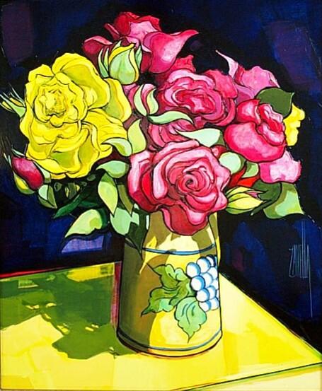 2001-Le Bouquet aux Roses-8F-ONU