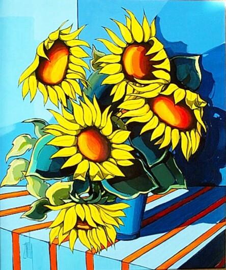 2001-Le Bouquet aux Tournesols-10F