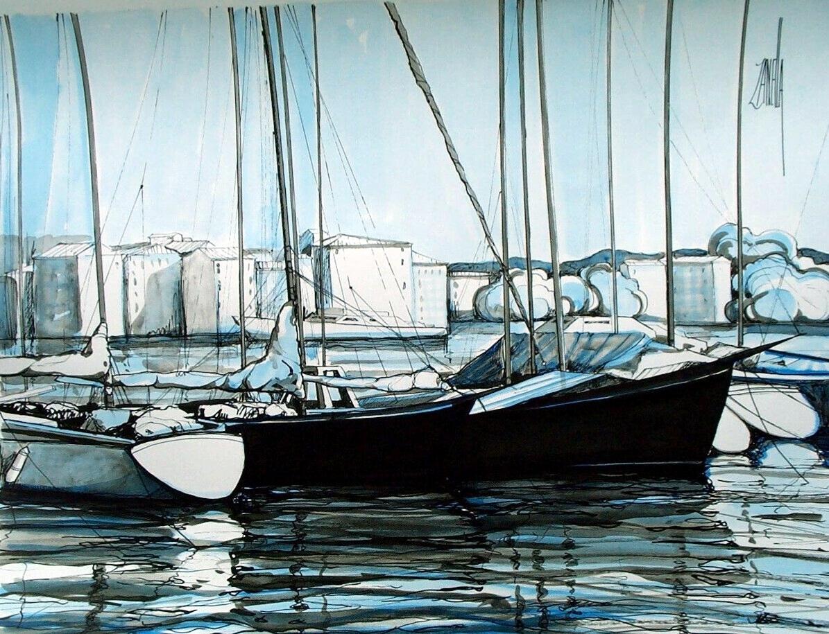2001-Les Voiliers-12P-ESP-Collection Zanella
