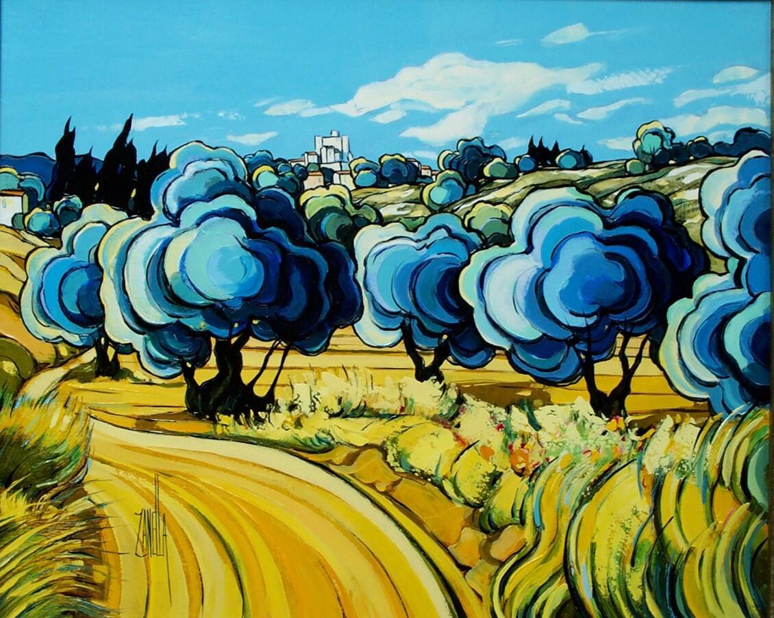 2001-Oliviers au Pied du Barroux-8F