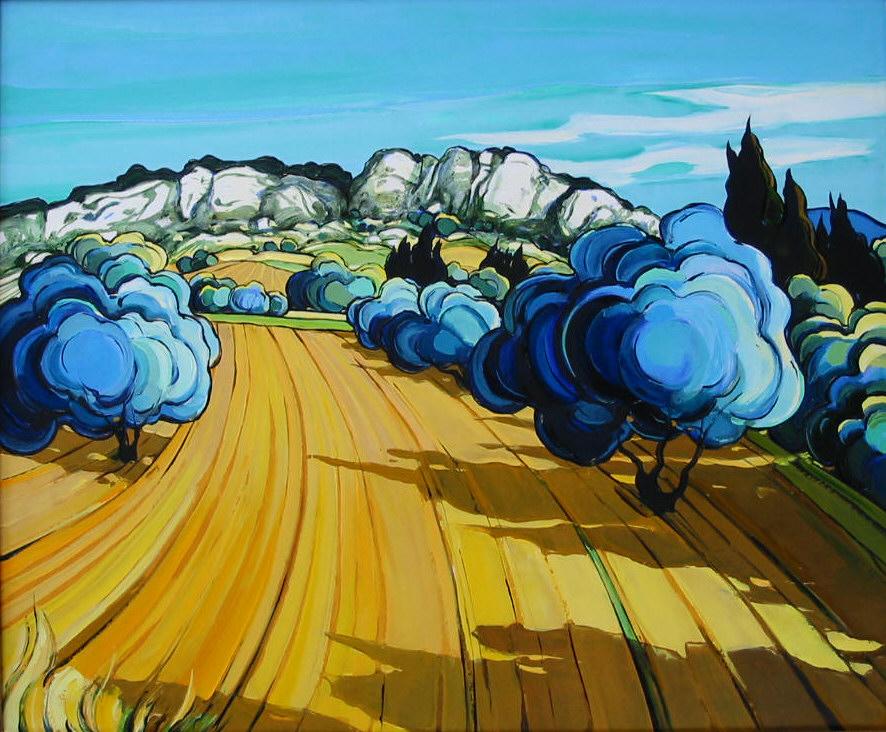 2002-Après-Midi dans les Alpilles (oliviers)-10F