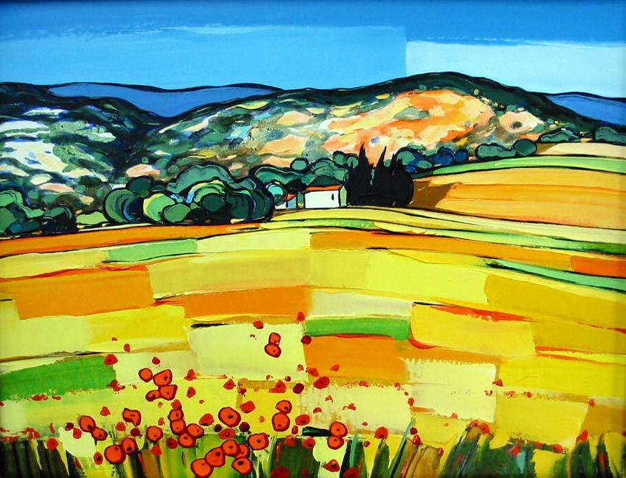 2002-Au Pied du Mont-Ventoux (printemps)-5F