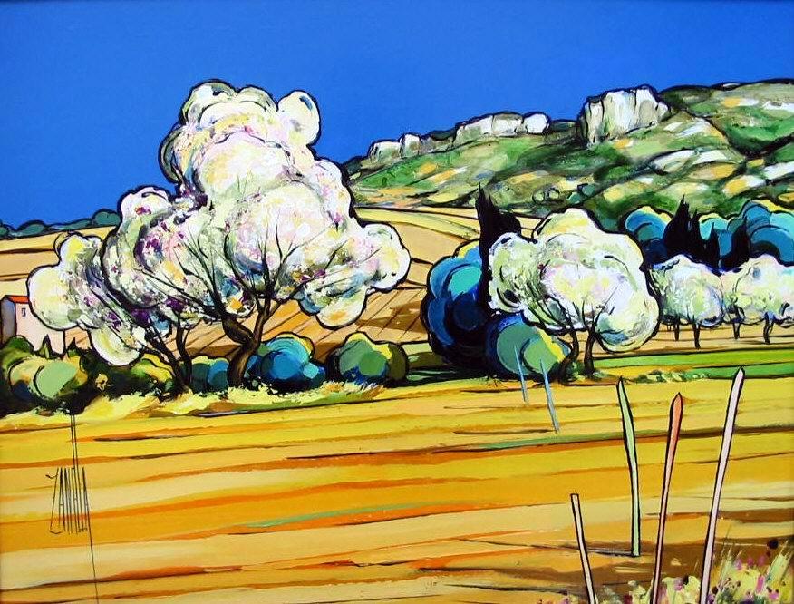 2002-Les Arbres en Fleurs-5F-Pacific Art-