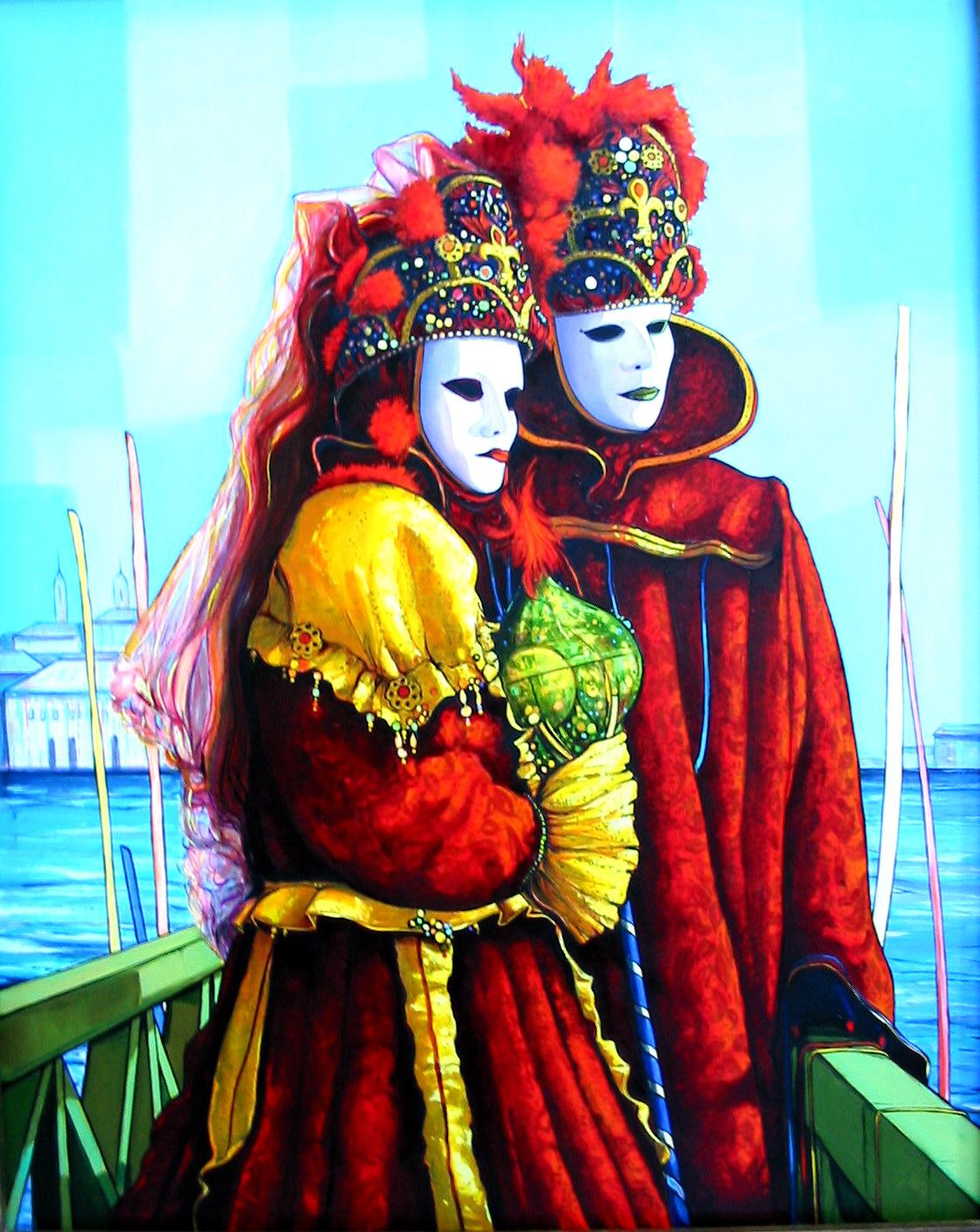 2002-Masques Rouges à Venise-30F-Gorge V