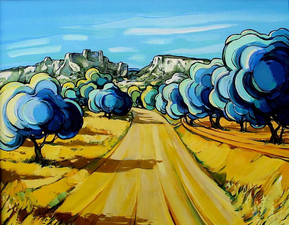 2003-Oliviers aux Baux de Provence-6F