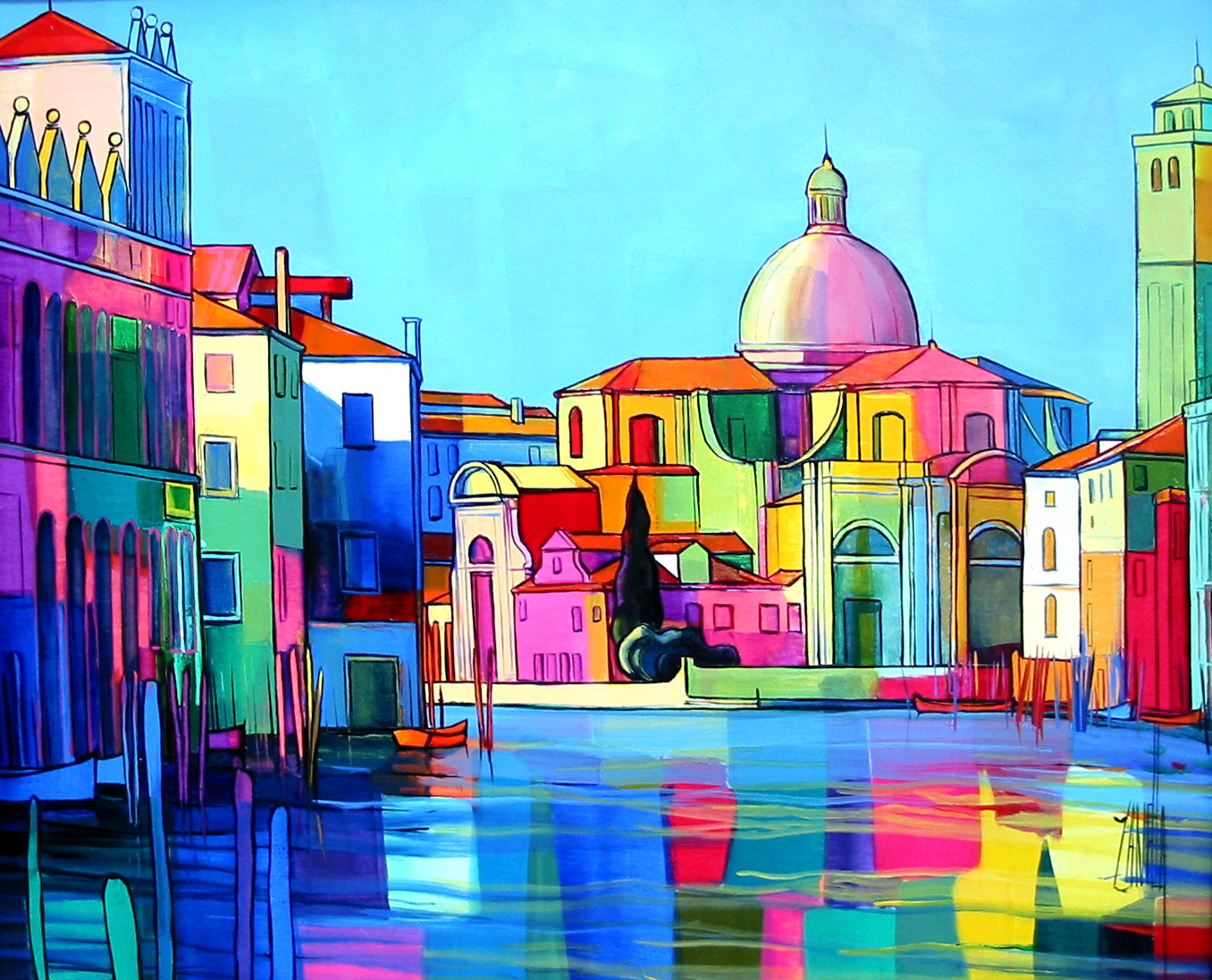 2003-Venise le grand canal-8F