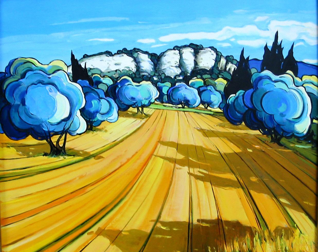 2003 olivier dans las alpilles 8F