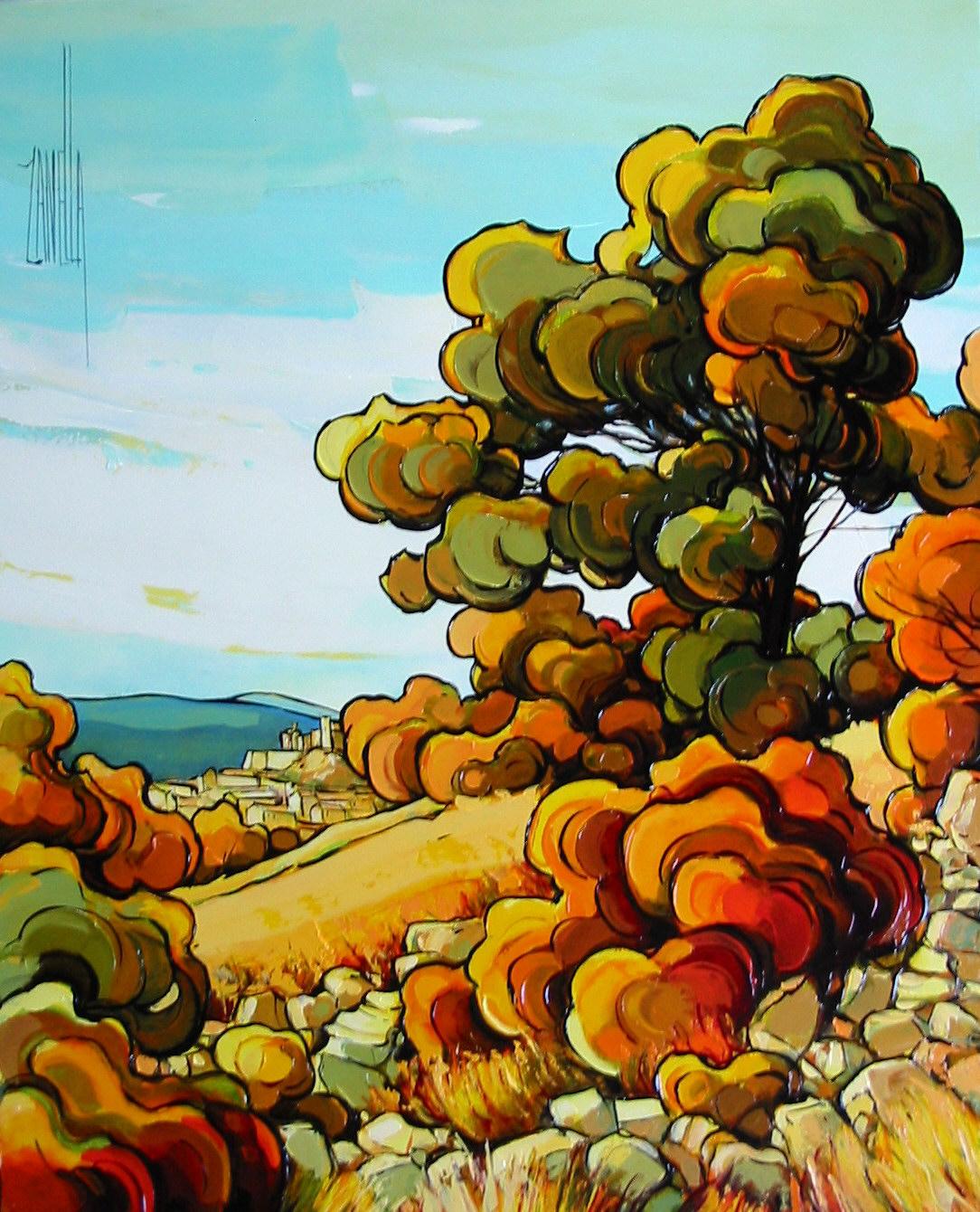 2004-Le Barroux les grands arbres-8F