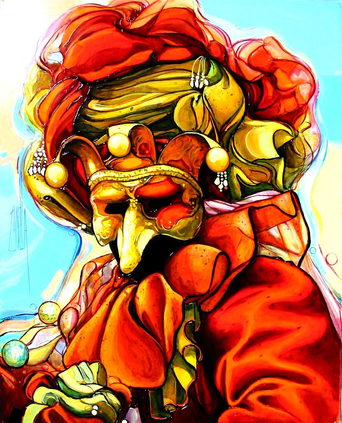 2004-Venise le masque rouge-6F