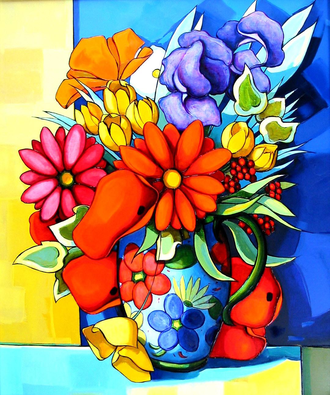 2004-le bouquet aux croqus-15F