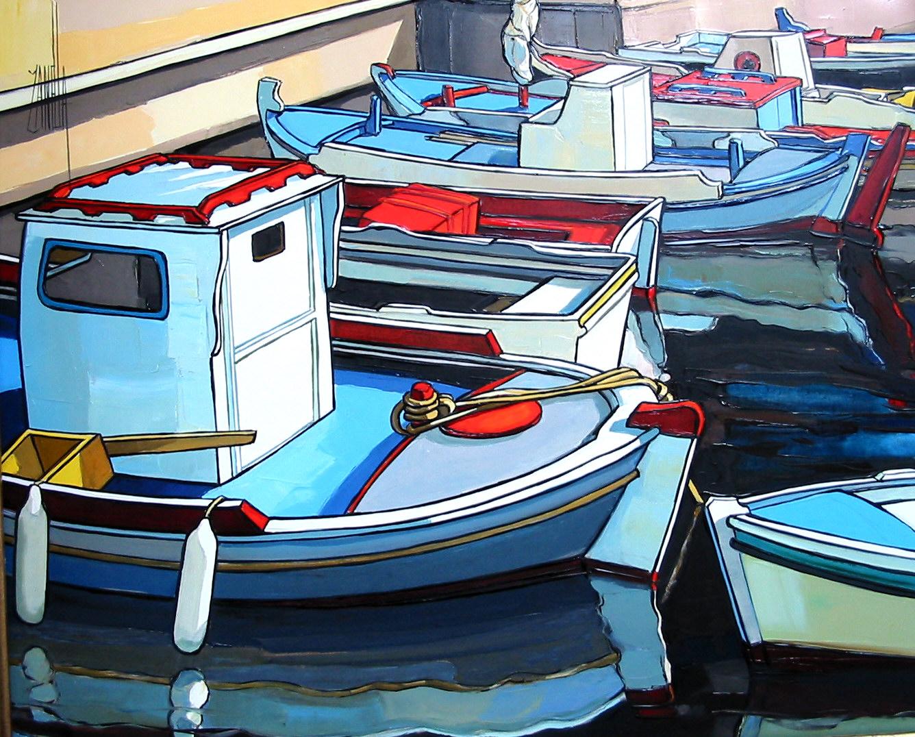 2005-Barques à Santorin-8F