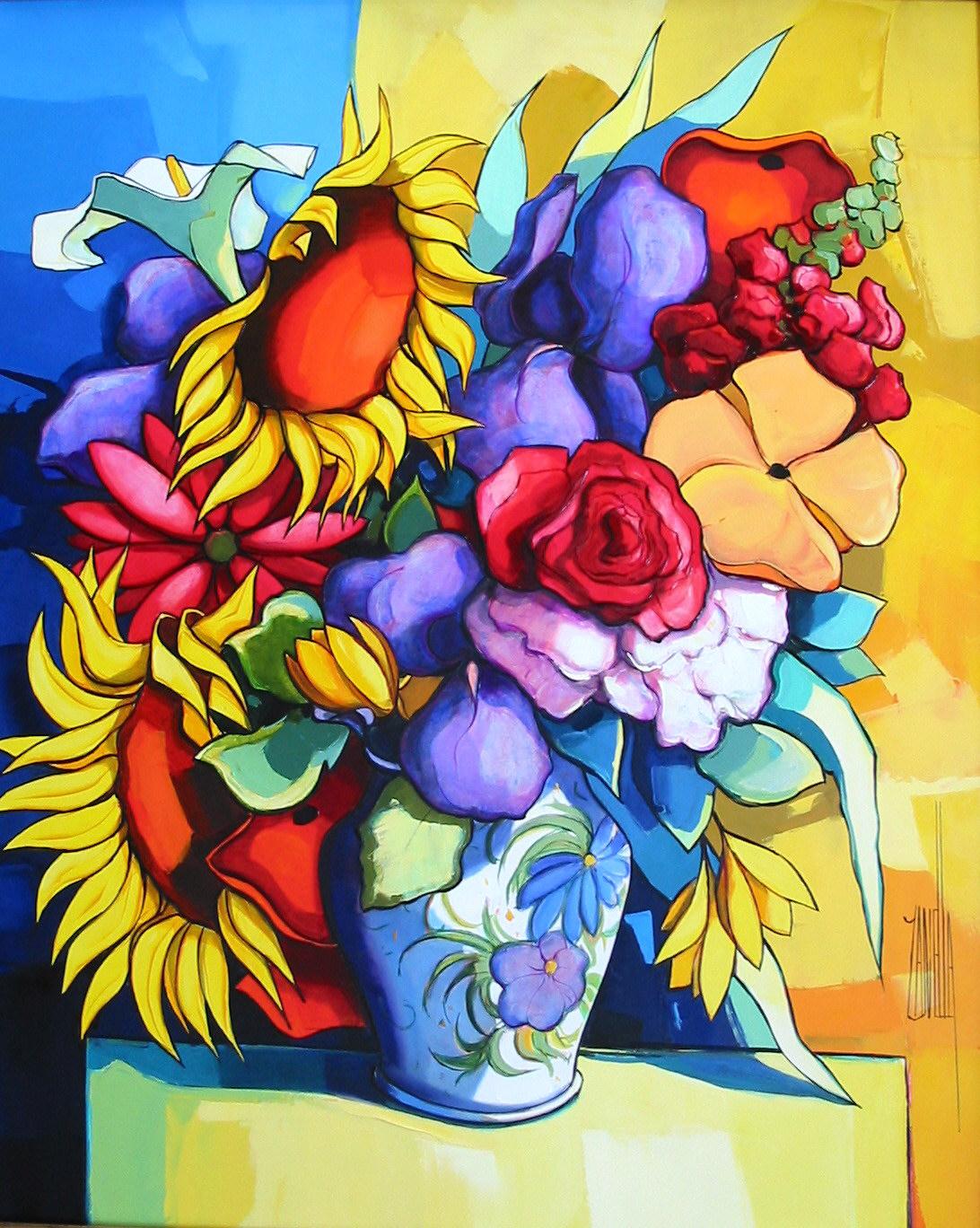 2005-Le Bouquet aux tournesols-15F