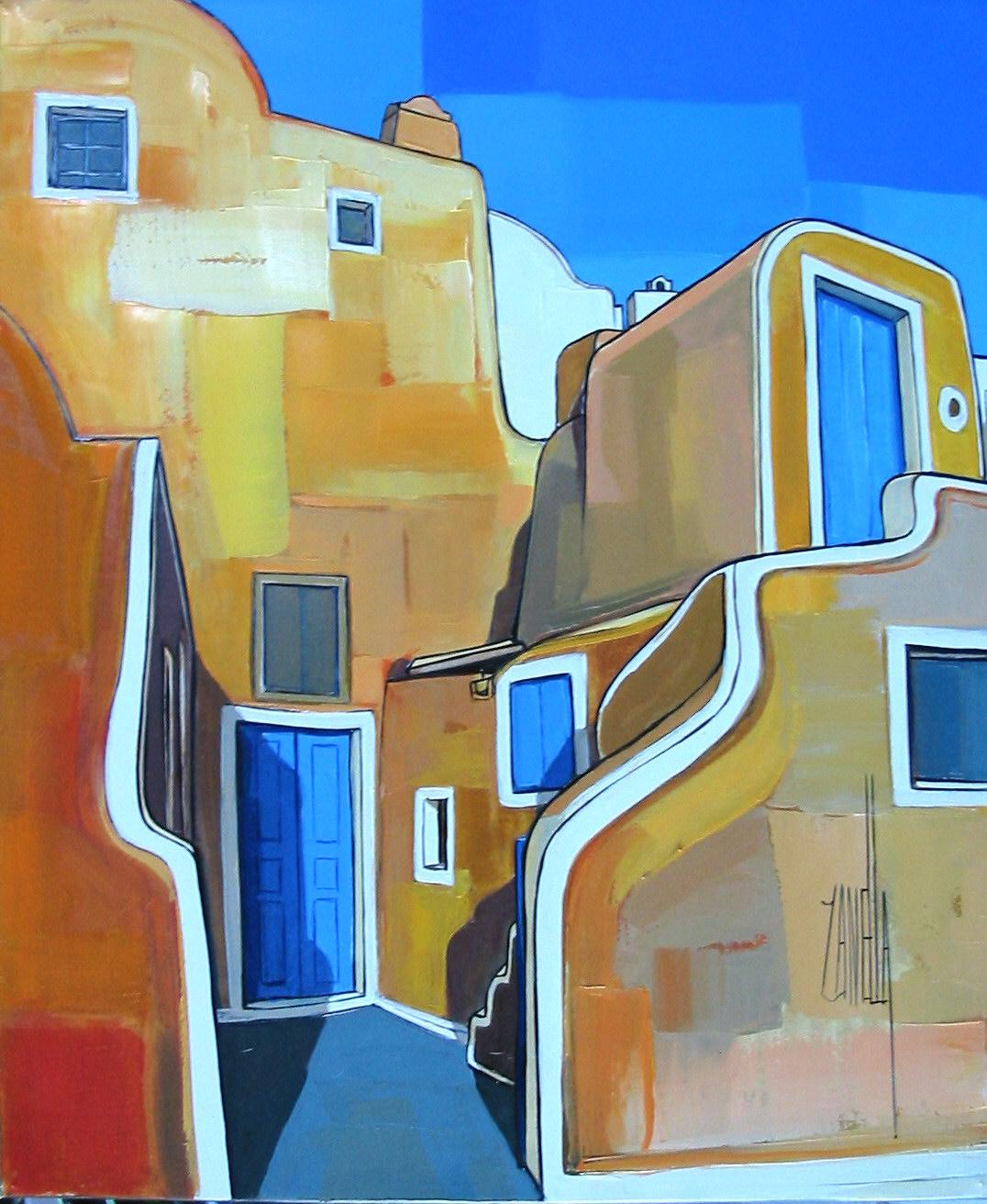 2005-OIA - la maison jaune- Santorin-8F
