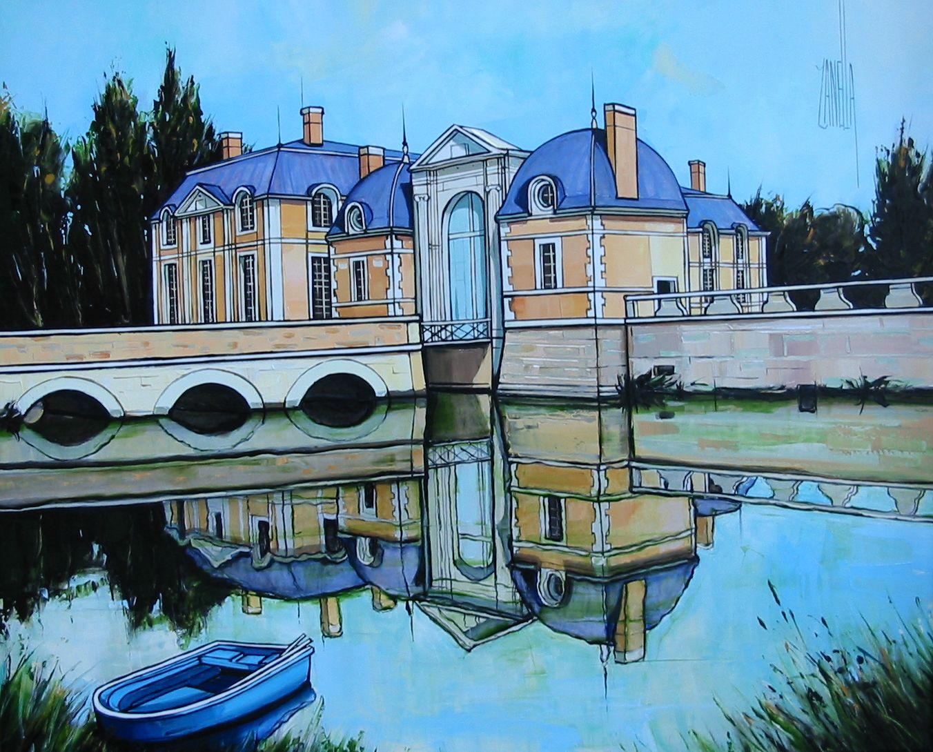 2007-Le chateau de la Ferté Saint Aubin-12F
