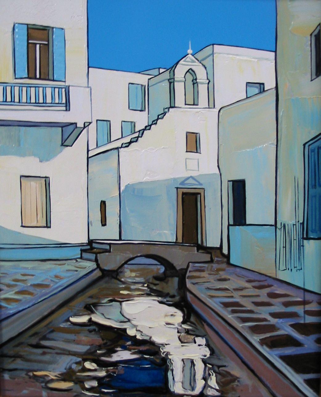 2007-Mykonos le ruisseau asséché-3F
