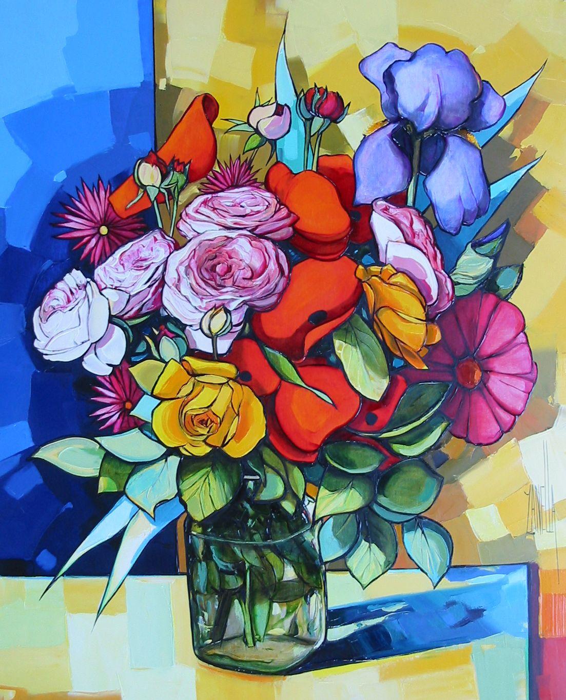 2008-Le bouquet aux roses-12F