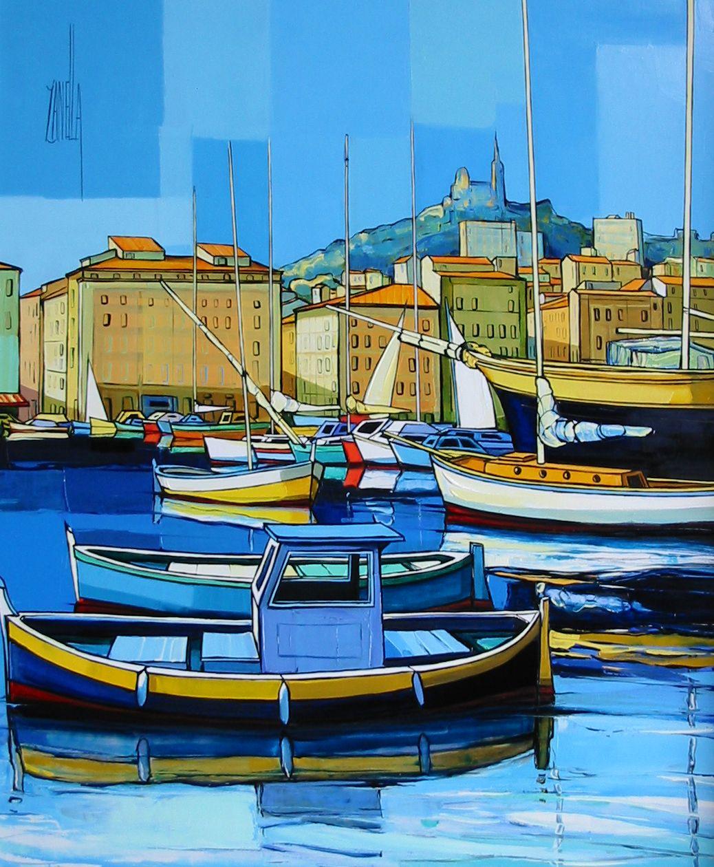 2008-Marseille le Vieux Port-15F