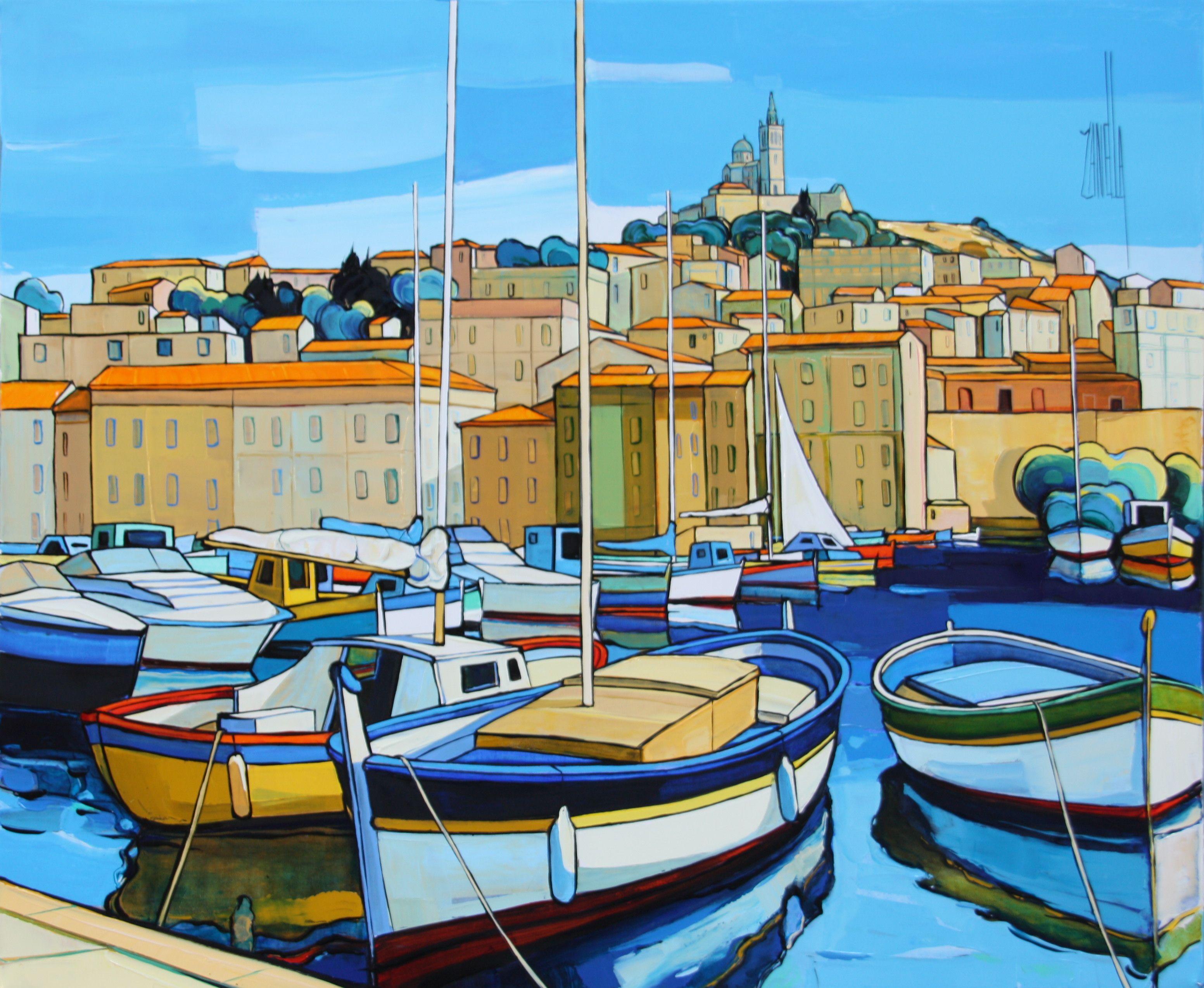 2012-Marseille le vieux port 8F2