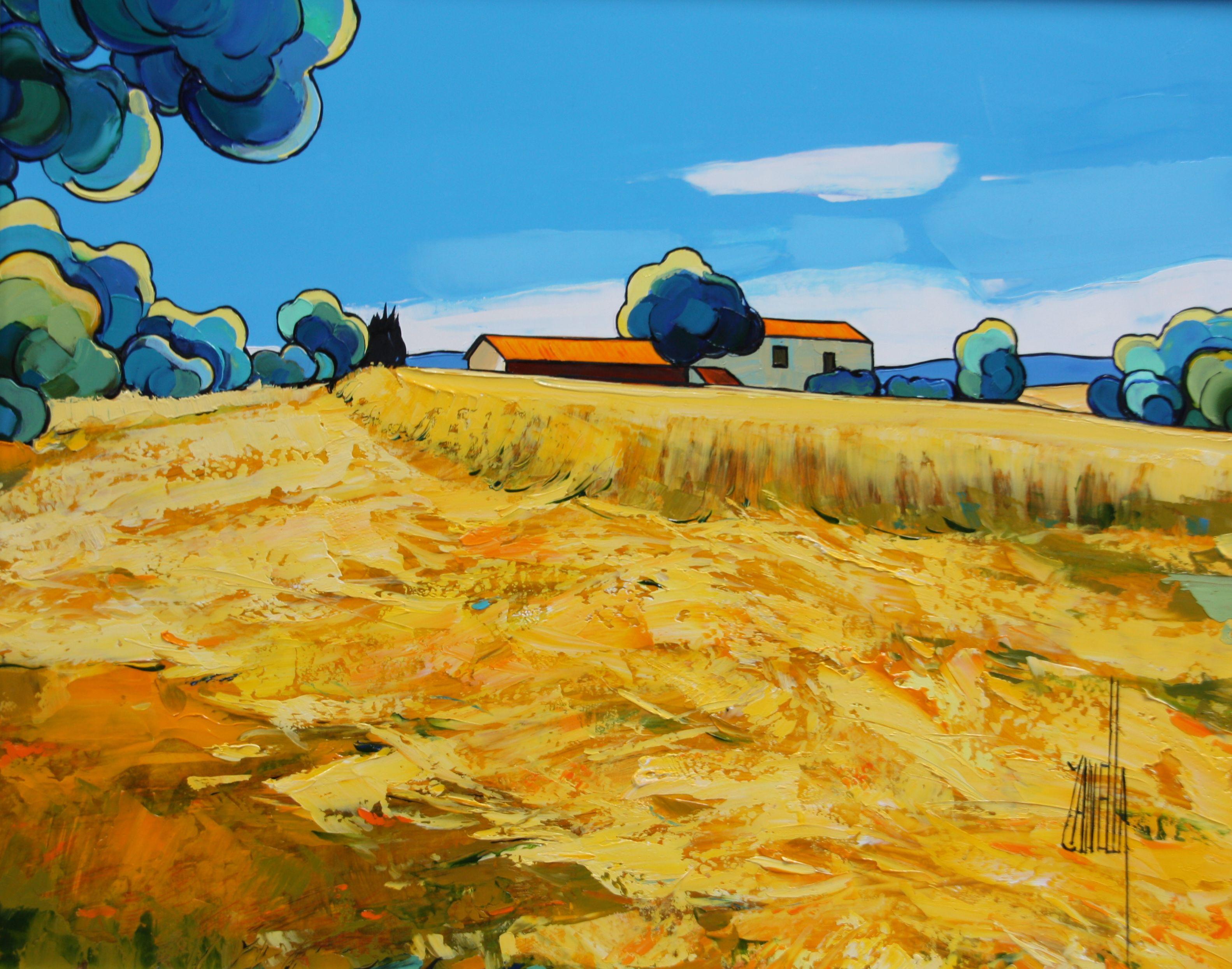 2013-Les blés coupés-6F