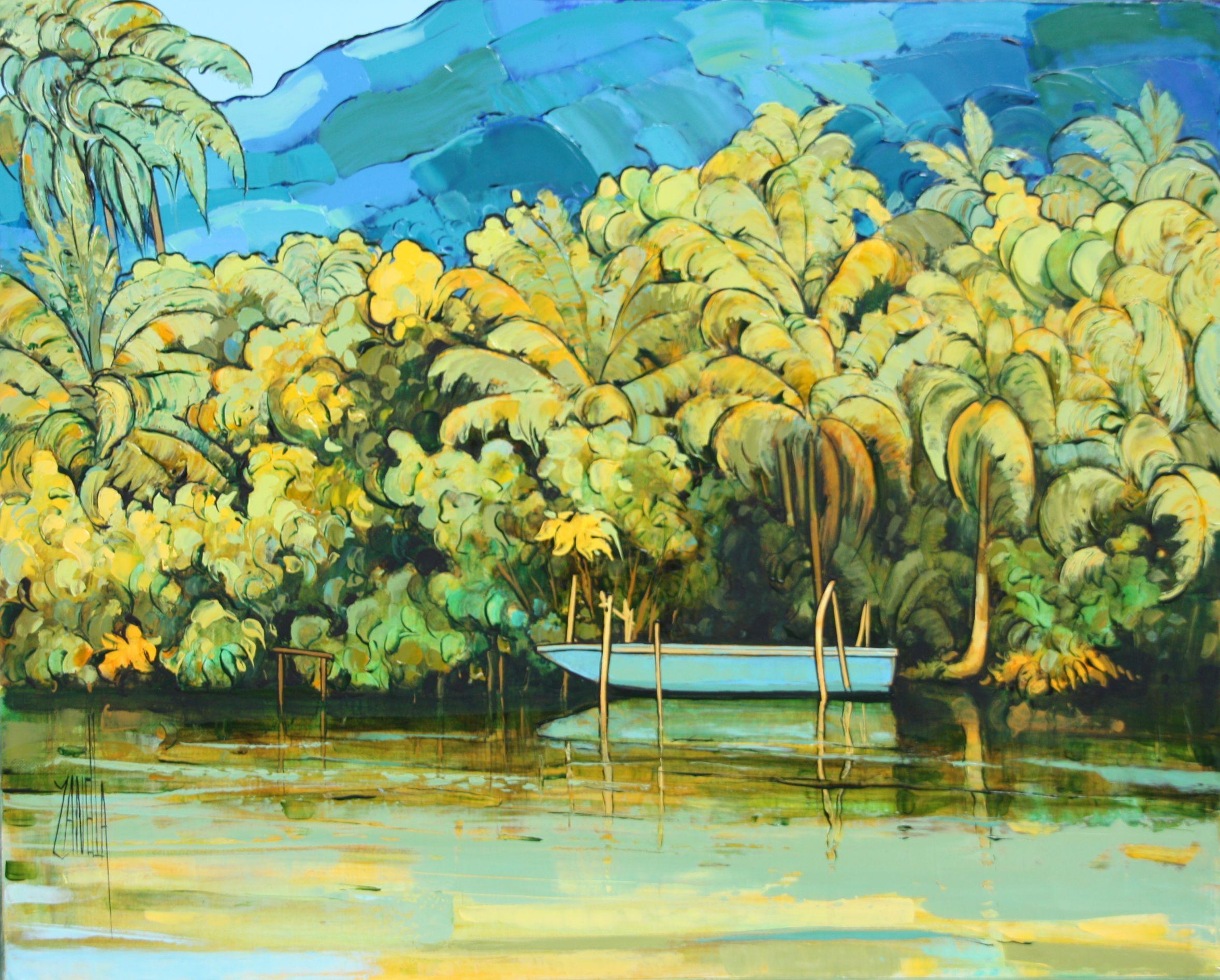 2014-Sur la rivière Faaroa- ile de Raiatéa-Polynésie-6F