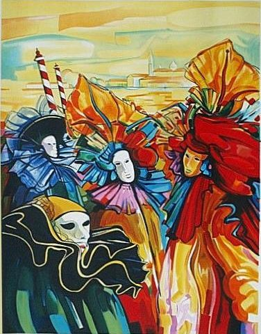 ZAN-Carnaval-72x57cm-Lithograph-Edition-200-SOLD-OUT